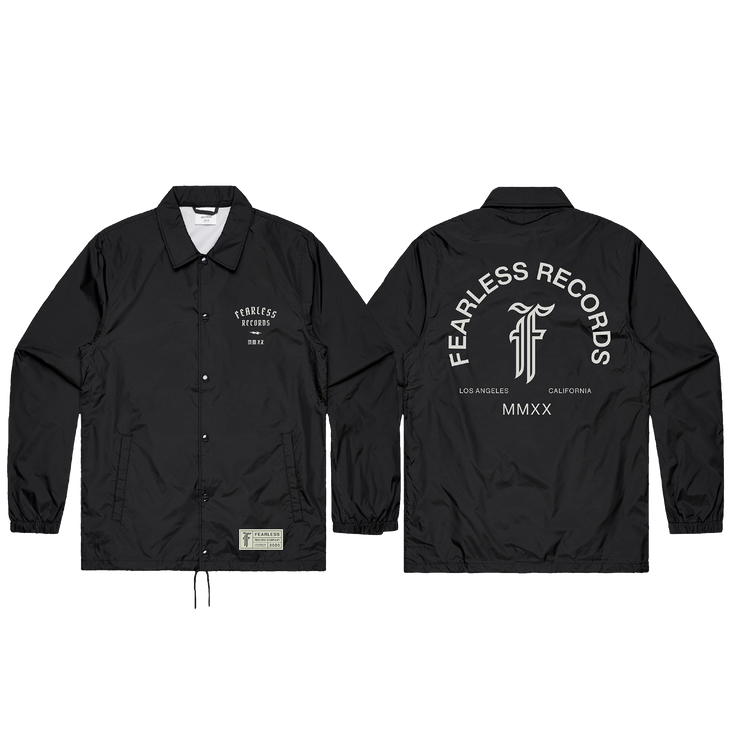 Fearless 2020 Pop Up Coaches Jacket
