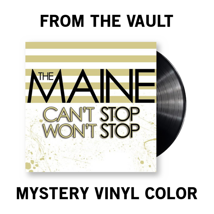 Can't Stop Won't Stop Vinyl