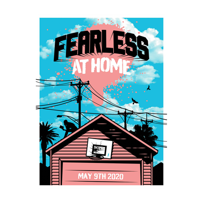 Fearless at Home Poster