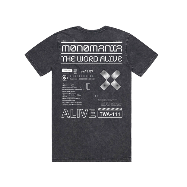 Monomania Acid Wash Tee