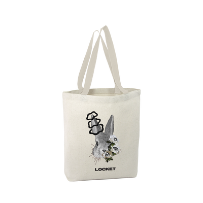 All Out Rabbit Tote Bag
