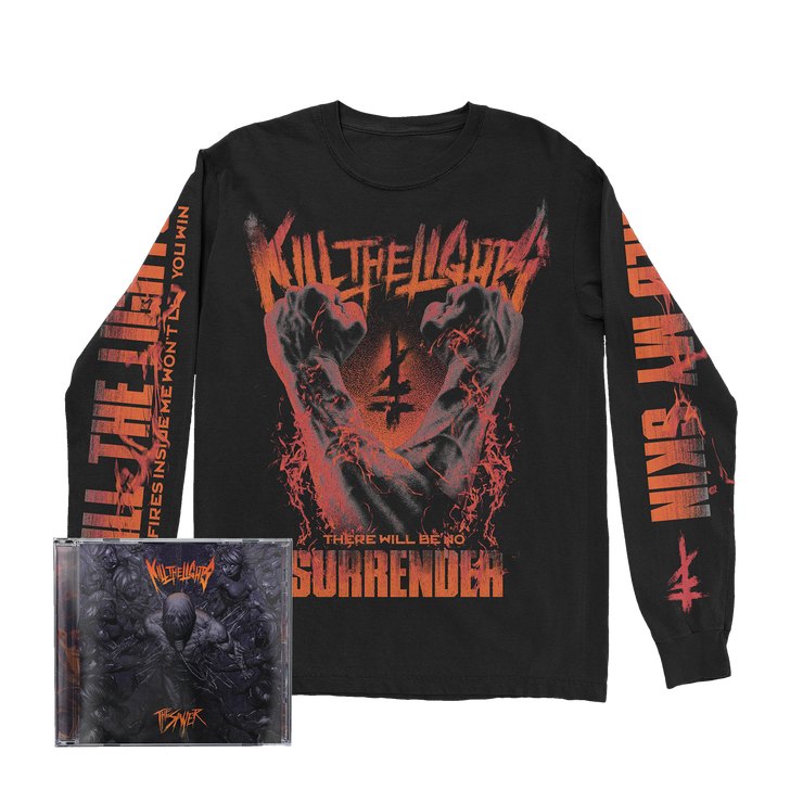 No Surrender Long Sleeve + CD Bundle