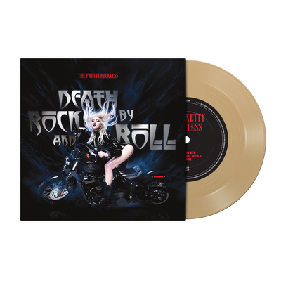 "The Pretty Reckless - Death by Rock and Roll 7"" - Metallic Gold"