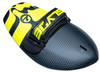 The Hawaiian Bula 389 YELLOW Shorebreak Handboard with Gopro Insert and Hand Strap