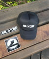 """New"" Slyde Baseball Caps, Black - White and White - Black"