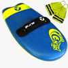 The Slyde BLUE Grom Soft Top Fun Handboard Package Deal