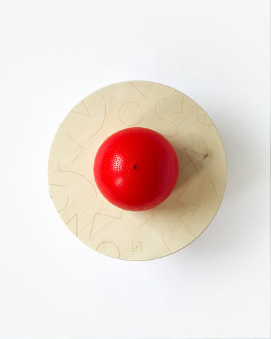 Ballon sauteur ― Pogo ball rouge
