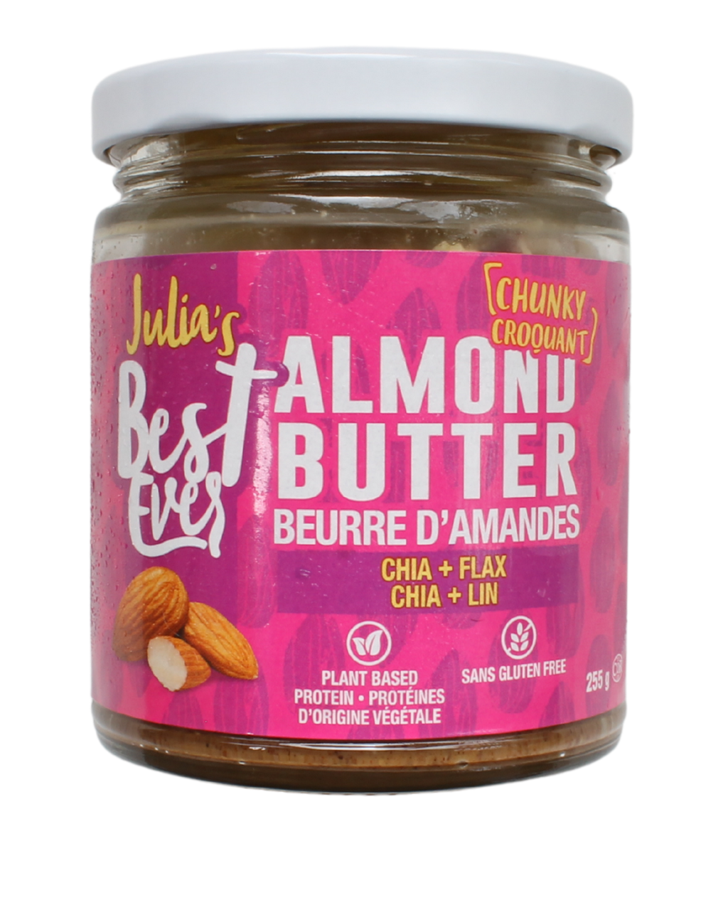Julia's Best Ever Chunky Almond Butter