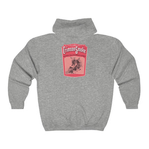 Load image into Gallery viewer, Hooded Sweatshirt - Crimson Smoke, Multiple Colors
