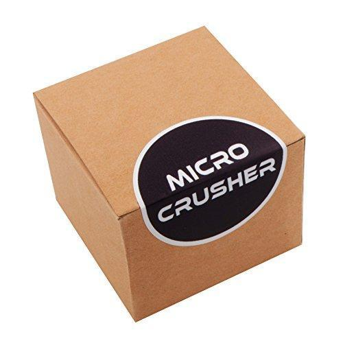 Micro Crusher Inc Smoking Girl Laser Etched Design 4pcs Large Size Herb Grinder With FREE Scraper Item # ETCH-G020817-1