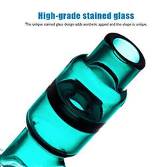 Green Globe Glass Crafts Accessories 14.4mm Glass Bow Tall 7.5in 260g (Glass-A) (Glass-A)