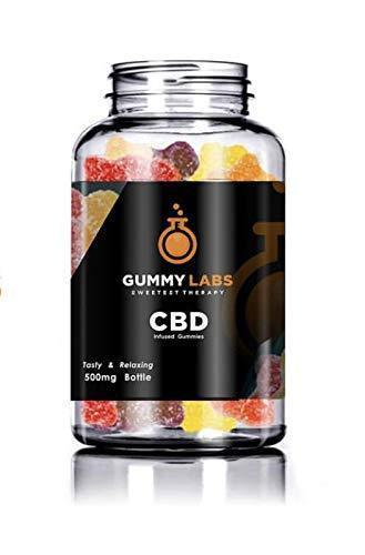 Gummy Labs - Hemp Gummies (400 mg Mello Melons) - 20 mg per Gummy for Pain and Anxiety