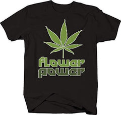 M22 Flower Power Pot Canabis CBD Medical T-Shirt - 4XL