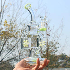 Big Recycler Water Bottle Accessories Percolator Bowl 14.4mm 13in 400g (2) (1)