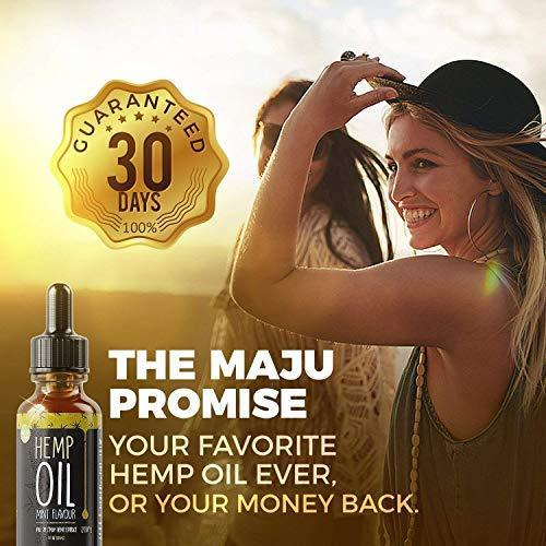 Hemp Oil Extract (450 mg), Strong Full Spectrum Pain & Anxiety Relief, Mild Mint Flavor, Zero THC CBD Cannabidiol, 100% Colorado Hemp, 450 mg Pure Hemp Oil