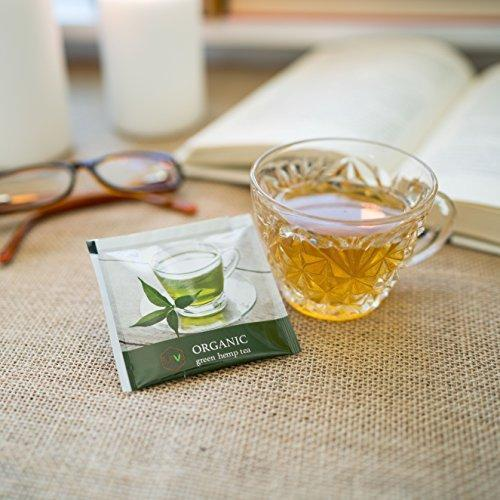 Organic Elev8 Hemp Tea (Green Tea)