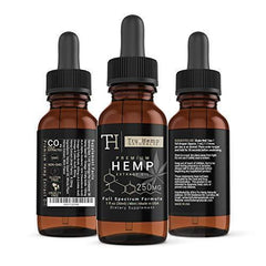 Full Spectrum Hemp Extract Oil - Premium Organic Hemp Extract Oil Drops for Pain Management and Stress Relief |Natural Anti-Inflammatory and Herbal Sleep Aid |250mg 1 Fl Oz. / (30ml) - Mint Flavor