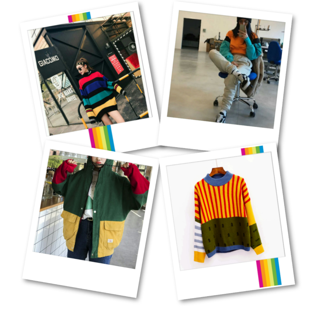 Who's the New Kid on the Block? Love 😍 the '80's Colorblocking Trend ? We got you!