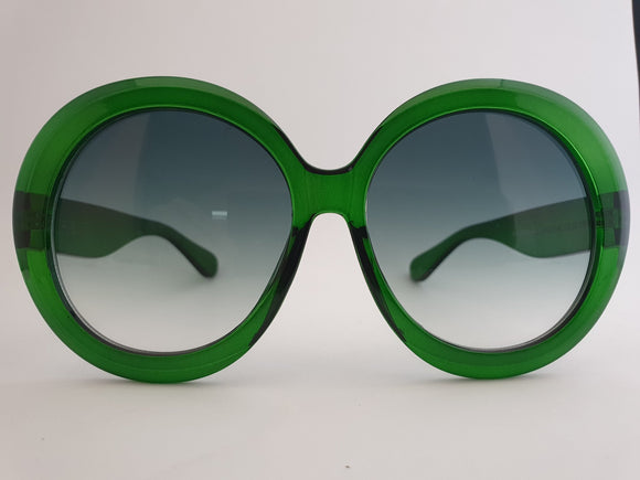 Happy To Sit - IRIS Emerald Sunglasses