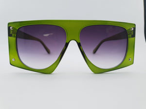 Happy To Sit - GOLDDUST Emerald Sunglasses