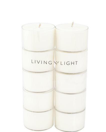 Soy Tea Light Fragrance Free