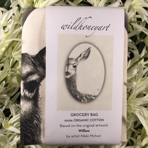 Wild Honey Organic Cotton Grocery Bag