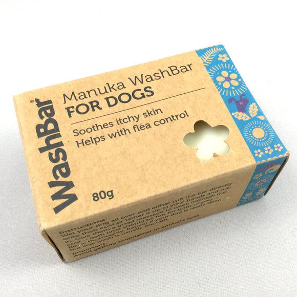 Washbar Manuka soap for Dogs