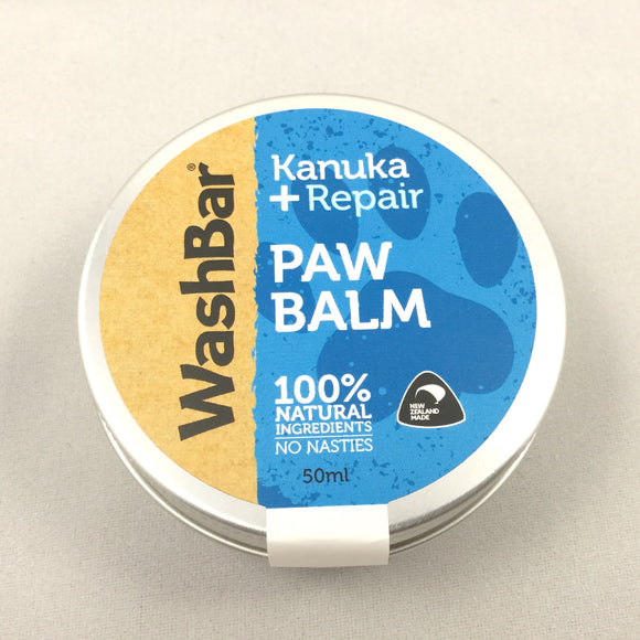 Washbar Kanuka Paw Balm for dogs