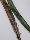 Copper Plated Peacock Tail Feathers - Different Colours & Sizes Available