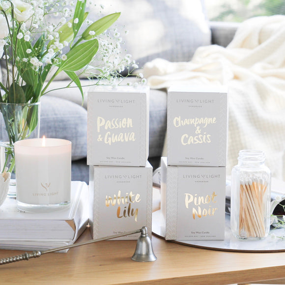Living Light Dream Collection Soy Candle