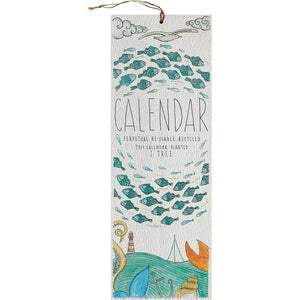 Perpetual Calendar Seaside by Little Difference
