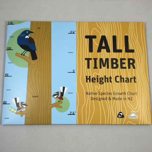 Tall Timber Height Chart