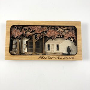 Mini Scenic Wooden Wall Art
