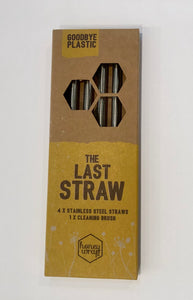 The Last Straw - Stainless Steel Straws