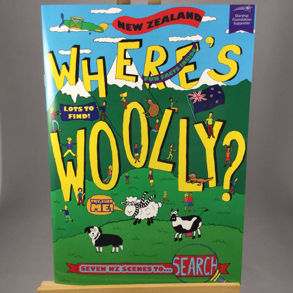Where's Woolly kids book