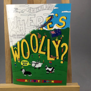 Wheres Woolly Activity Book