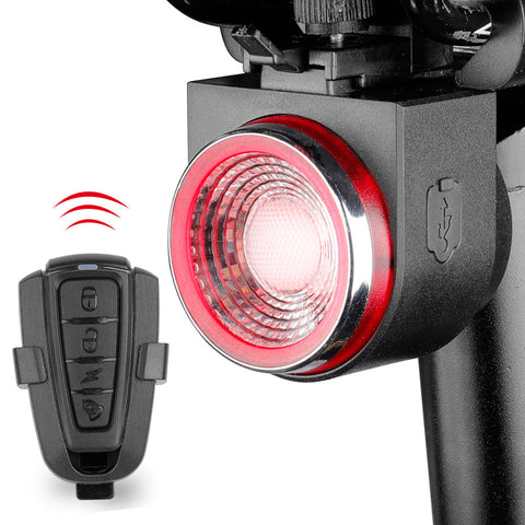 Rear Automatic Bike Light & Alarm Bell