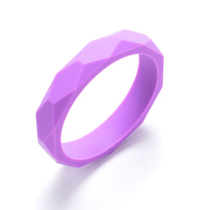 LUCY Silicone Bangle | Purple