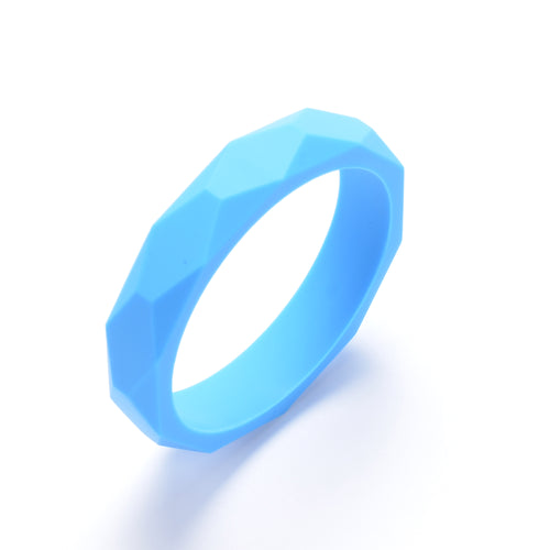 LUCY Silicone Bangle | Sky