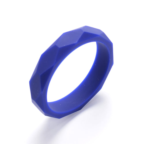 LUCY Silicone Bangle | Navy
