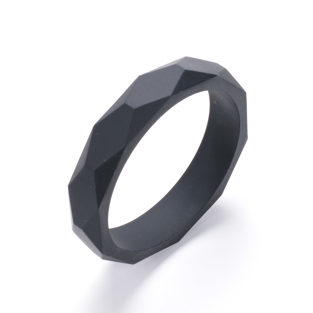LUCY Silicone Bangle | Black