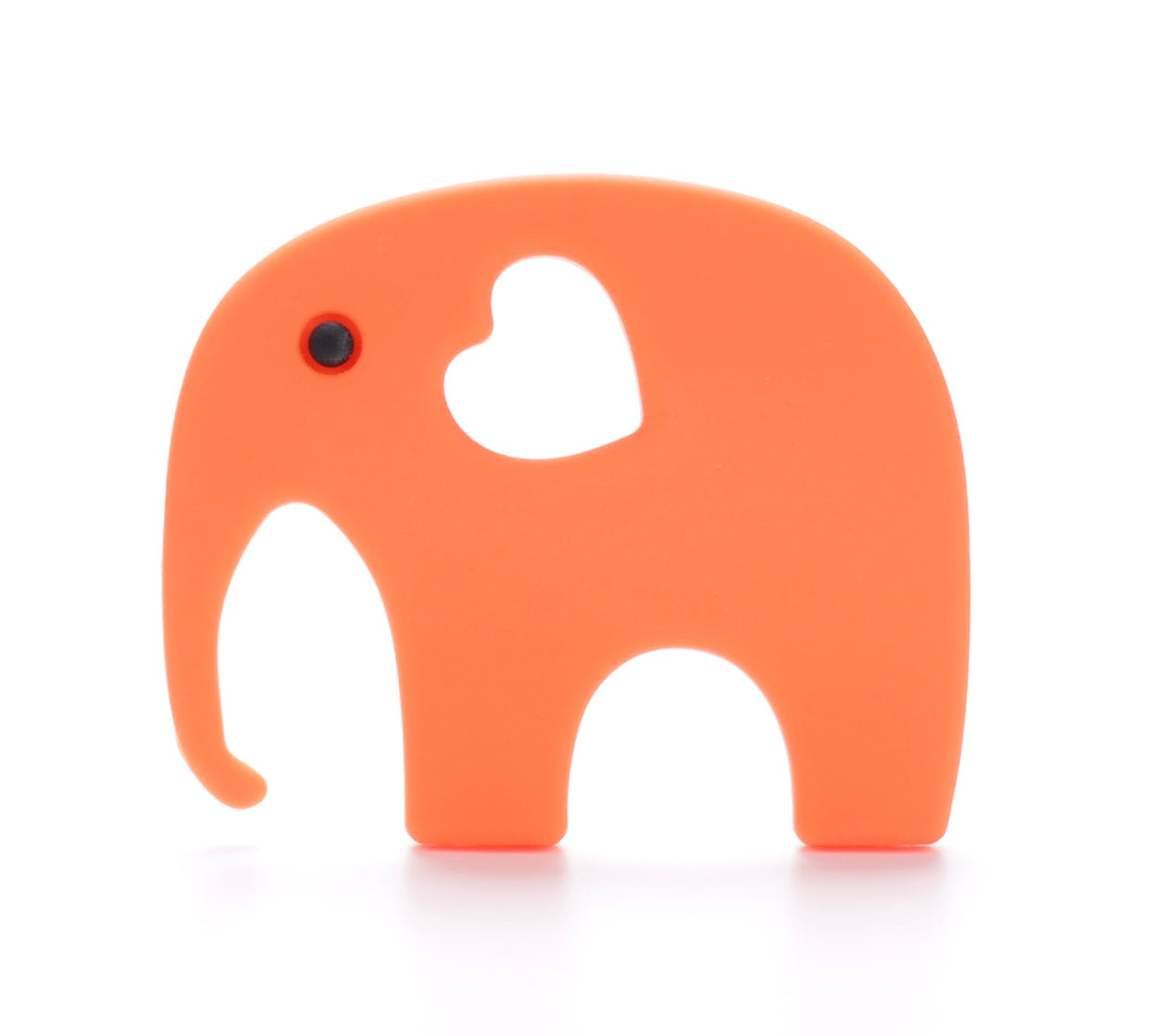 ELEPHANT Teething Toy | Orange
