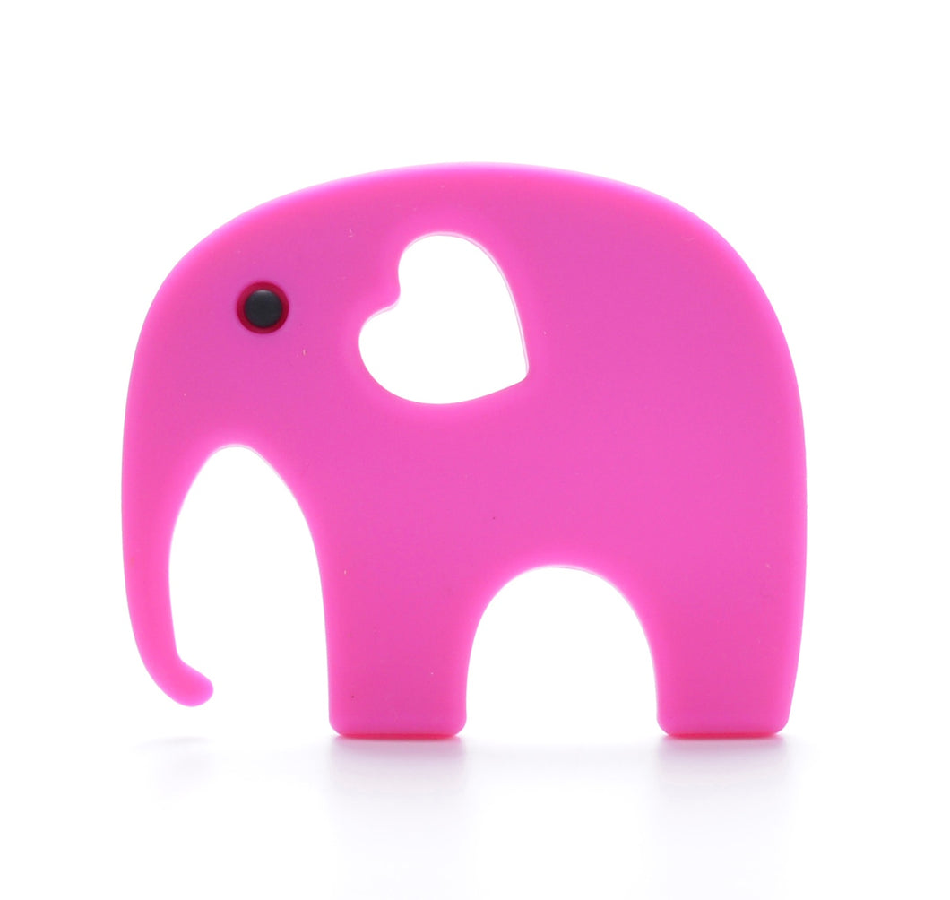 ELEPHANT Teething Toy | Fuchsia