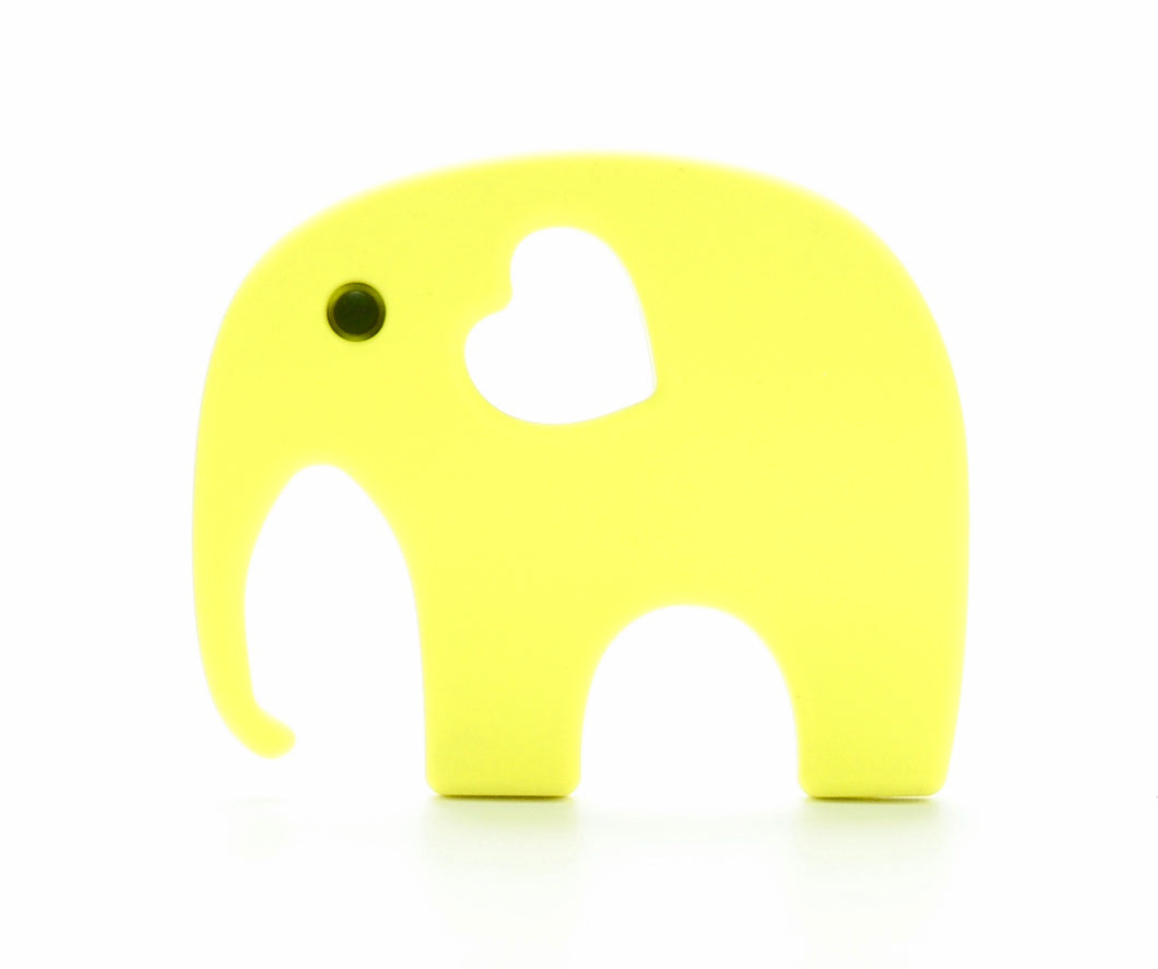 ELEPHANT Teething Toy | Yellow