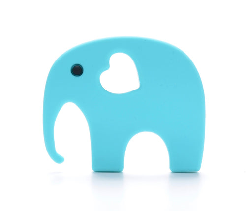 ELEPHANT Teething Toy | Sky Blue