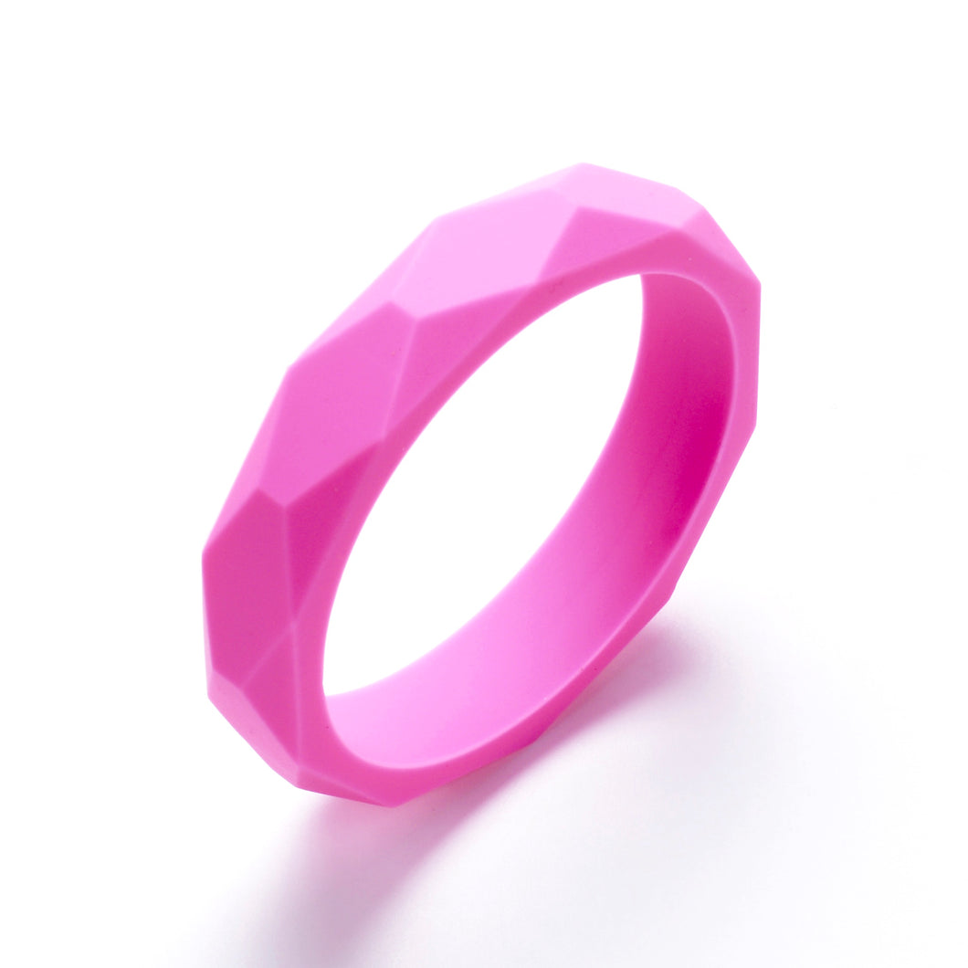 LUCY Silicone Bangle | Pink