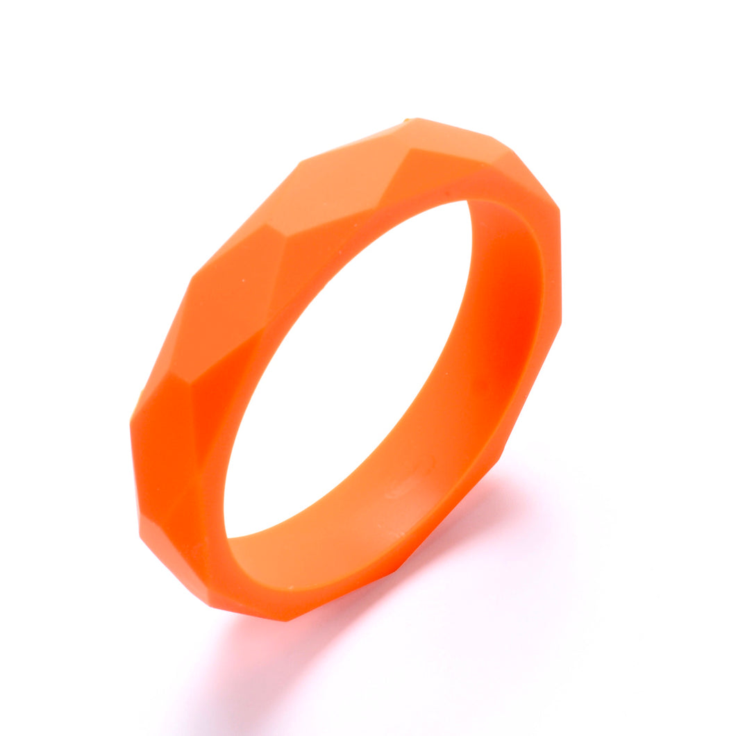 LUCY Silicone Bangle | Orange