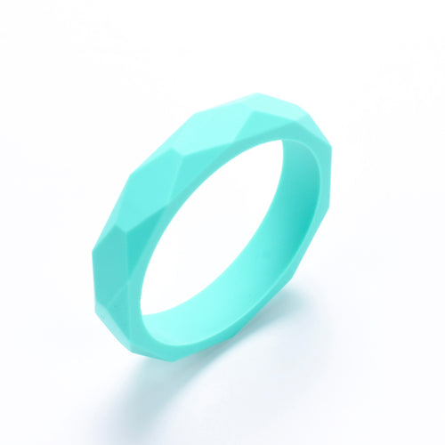 LUCY Silicone Bangle | Turquoise