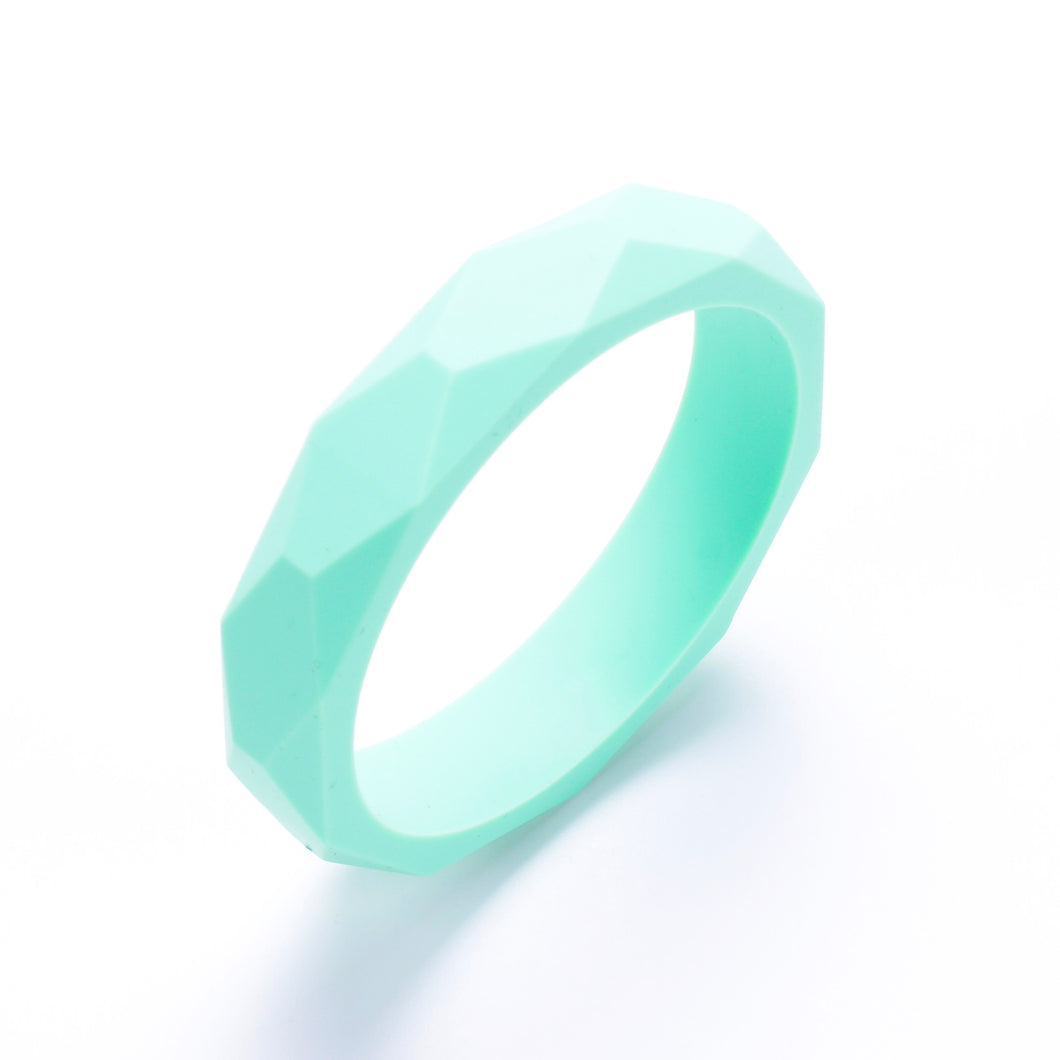 LUCY Silicone Bangle | Mint