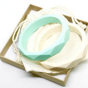 LUCY Silicone Bangle | Grey